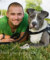 Eric Veverka, K-9 Service Dog Trainer for Andrew Botrell, Triple Amputee Veteran & About Time's Independence, Cane Corso Service Dog